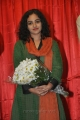 Nithya Menon Latest Stills at Gunde Jaari Gallanthayyindhe Logo Launch