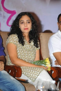 Nithya Menon Latest Pictures at Ishq 100 Days Function