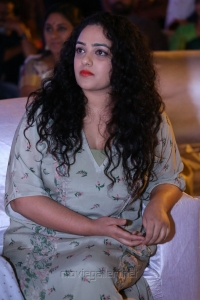 Nithya Menen Cute Stills @ Awe Pre Release