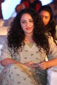 Nitya Menon Cute Stills @ Awe Pre Release