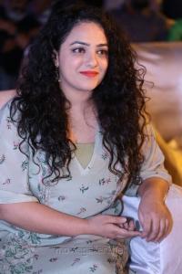 Nithya Menon Cute Stills @ Awe Movie Pre Release