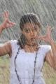 Telugu Actress Nithya Menon Wet Photos in Rain Song