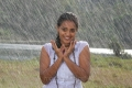 Actress Nithya Menon in White Dress Hot Wet Photos