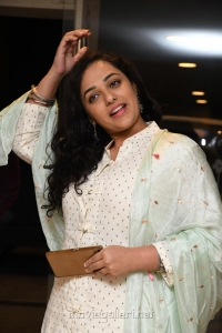 Actress Nithya Menon Images @ 100 Days of Love Audio Launch