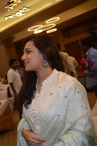 Actress Nithya Menon Images @ 100 Days of Love Audio Release