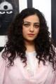Actress Nithya Menon in Pink Churidar Photos @ Gaze Solo Show