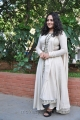 Actress Nithya Menon in White Salwar Kameez Photos
