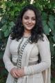 Actress Nithya Menon Hot Photos in White Salwar Kameez