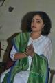 Nithya Menon Cute Images in White Salwar Kameez