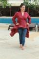 Actress Nithya Menon Photos @ Mission Mangal Media Interactions