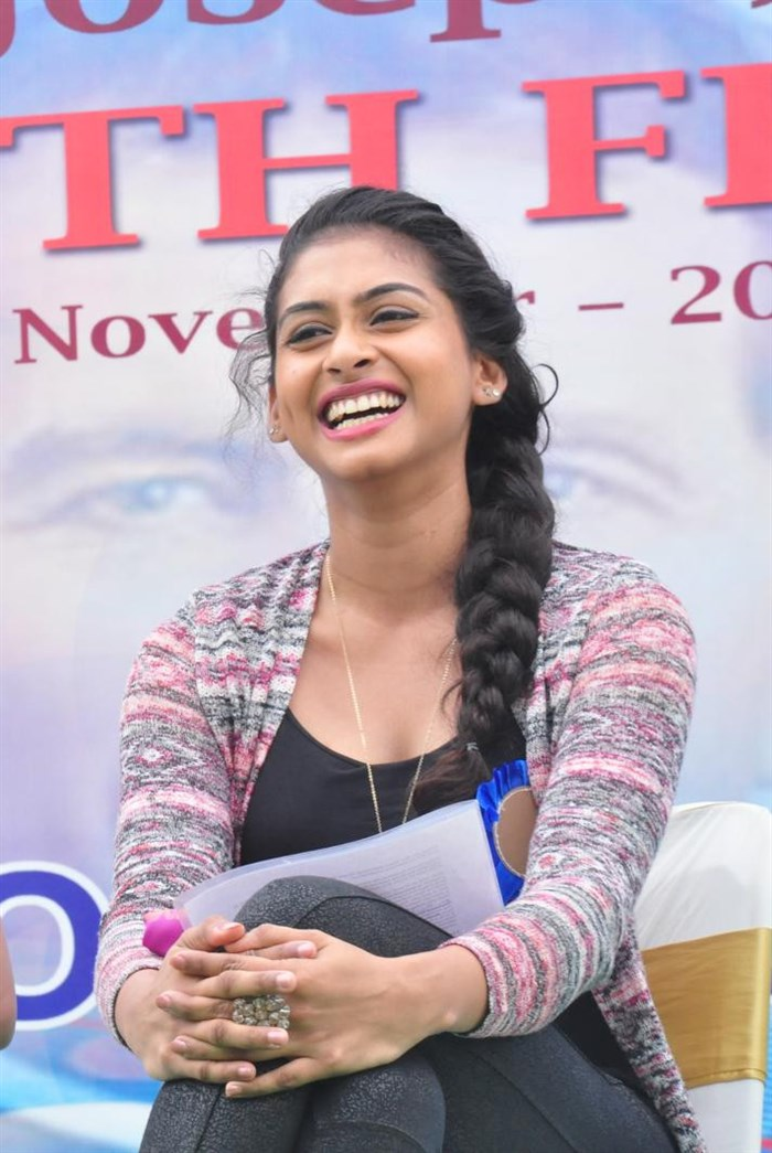 Actress Nithya Naresh Images @ Don Bosco Silver Jubilee Celebrations
