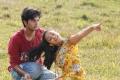 Rejith Menon, Nithya Menon in Nithya Telugu Movie Stills