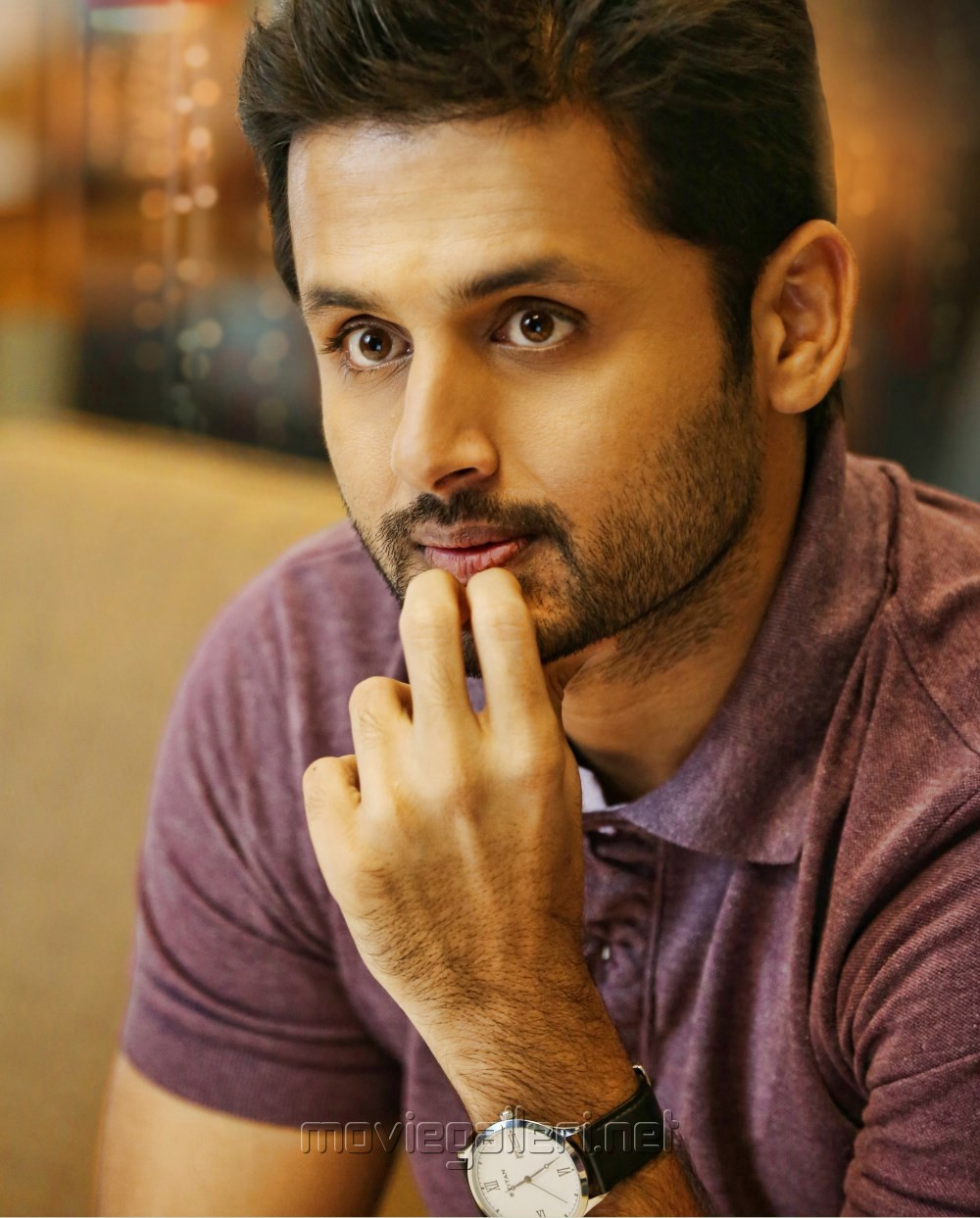 Hero Nithin Photos From A Aa Movie