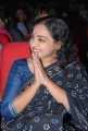 Telugu Actress Nithya Menon Cute Black Saree Photos