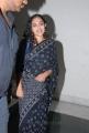 Nithya Menon in Black Saree Photos at Okkadine Audio Release