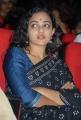 Nithya Menon Saree Stills at Okkadine Audio Release