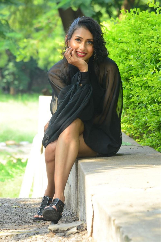 Actress Nitya Naresh New Pics @ Operation Gold Fish Trailer Launch