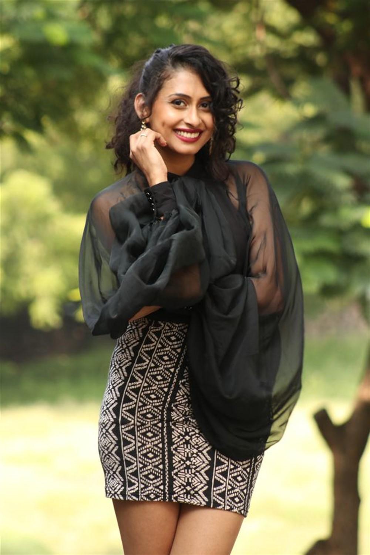 Actress Nitya Naresh Pics @ Operation Gold Fish Trailer Launch