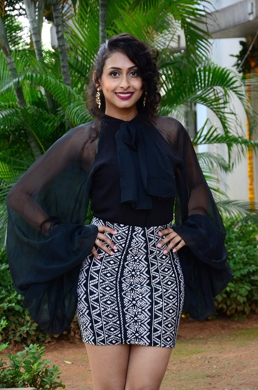 Actress Nithya Naresh New Pics @ Operation Gold Fish Trailer Launch