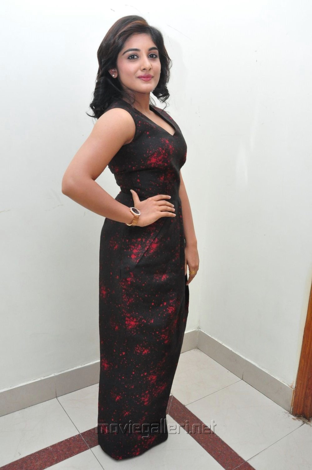 Actress Niveda Thomas Hot Stills @ Gentleman Audio Launch
