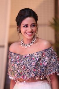 Actress Nivetha Pethuraj Beautiful Pics @ Chitralahari Pre Release