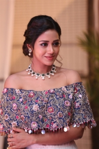 Actress Nivetha Pethuraj Beautiful Pics @ Chitralahari Movie Pre Release