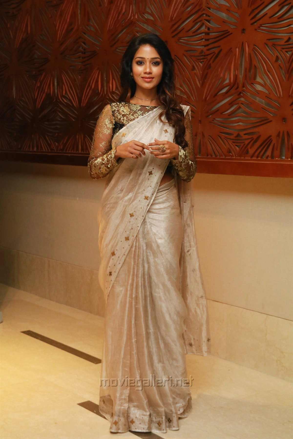 Picture 1314865 | Tamil Actress Nivetha Pethuraj Saree New ...
