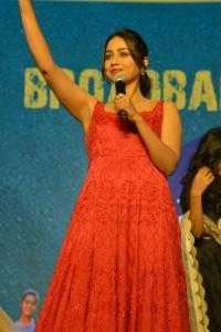 Paagal Movie Heroine Nivetha Pethuraj in Red Dress Pictures