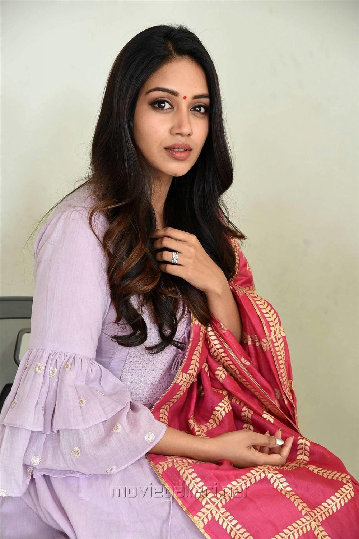 Actress Nivetha Pethuraj @ Chitralahari Teaser Launch Pics