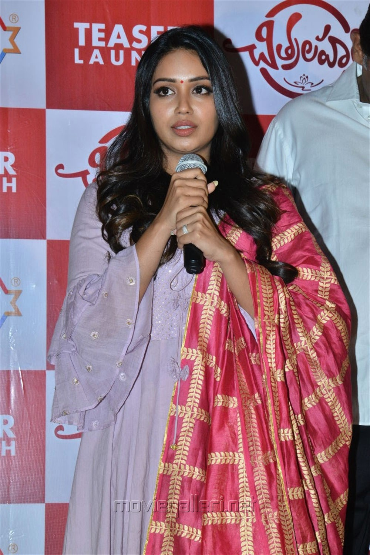 Chitralahari Actress Nivetha Pethuraj Churidar Dress Pics