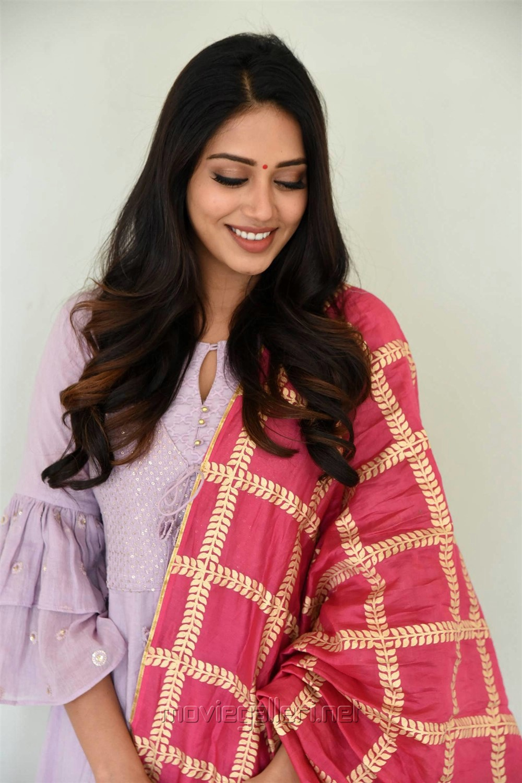 Actress Nivetha Pethuraj Cute Pics @ Chitralahari Teaser Launch
