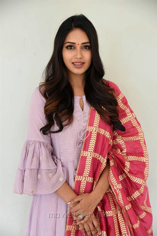 Actress Nivetha Pethuraj Beautiful Pics @ Chitralahari Teaser Launch