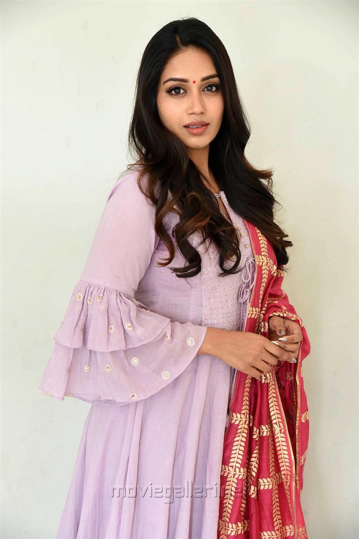 Actress Nivetha Pethuraj Cute Pics @ Chitralahari Movie Teaser Launch