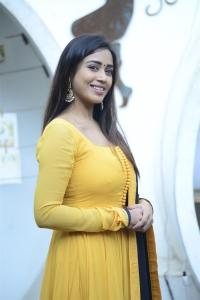 Actress Nivetha Pethuraj Cute Photos in Yellow Salwar