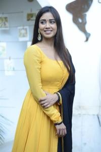 Red Movie Heroine Nivetha Pethuraj in Yellow Salwar Photos