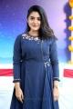 Telugu Actress Nivetha Thomas in Blue Dress Stills