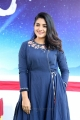 Actress Nivetha Thomas Blue Dress Stills @ Swaasa Movie Opening