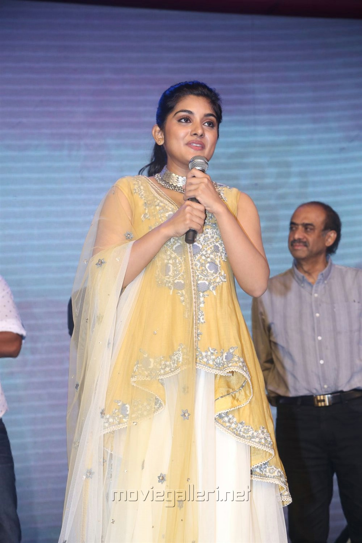 Actress Nivetha Thomas Photos @ Ninnu Kori Pre Release Function