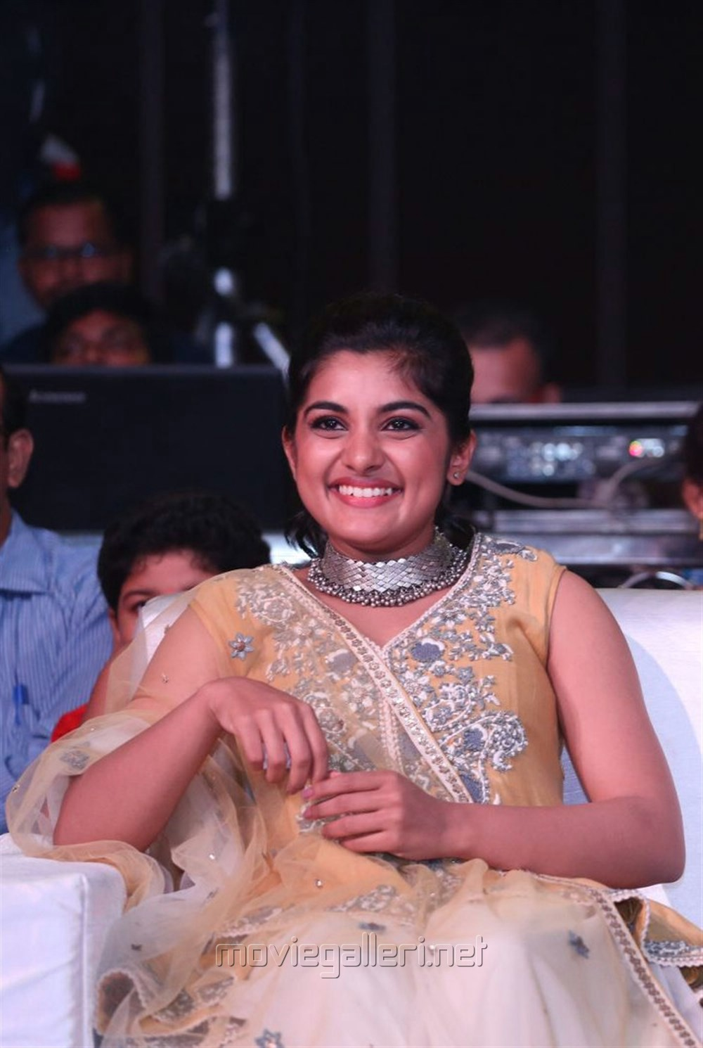 Actress Nivetha Thomas Cute Photos @ Ninnu Kori Pre Release Function