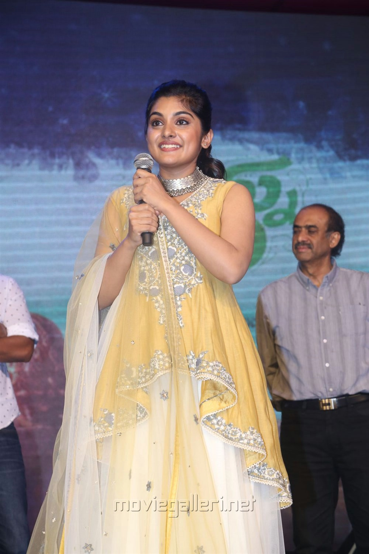 Actress Nivetha Thomas Photos @ Ninnu Kori Movie Pre Release Function