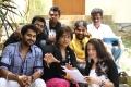 Actress Ambika with Nizhal Tamil Movie Team Stills