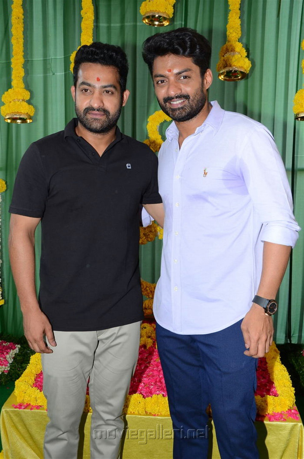 Jr NTR, Kalyan Ram @ NKR16 East Coast Productions No 1 Movie Launch Stills