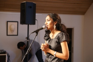 Singer Charulatha Mani at Norway Tamil Film Festival 2012 Stills