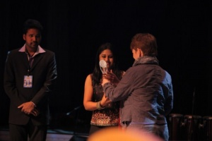 Punnagai Poo Geetha at Norway Tamil Film Festival 2012 Stills