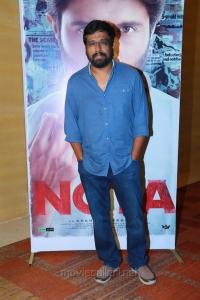 M Rajesh @ NOTA Movie Press Meet Stills