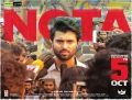 Vijay Deverakonda NOTA Movie Release Posters