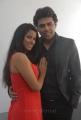 Shravya Reddy, Rohit Kaliyar at NRI Movie Platinum Function Stills