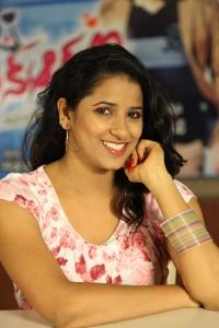 Actress Shravya Reddy at NRI Movie Press Meet Stills