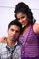 Rohit Kaliyar, Shravya Reddy in NRI Telugu Movie Stills