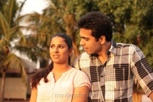 Shravya Reddy, Rohit Kaliyar in NRI Telugu Movie Stills
